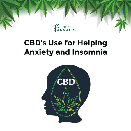 CBD's Use for Helping Anxiety and Insomia