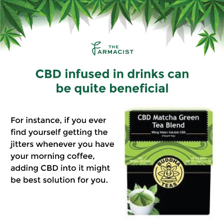 CBD Infused in Drinks can be quite Beneficial