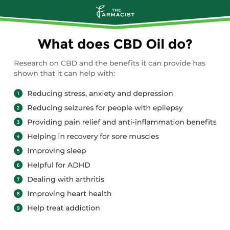 What does cbd oil do?