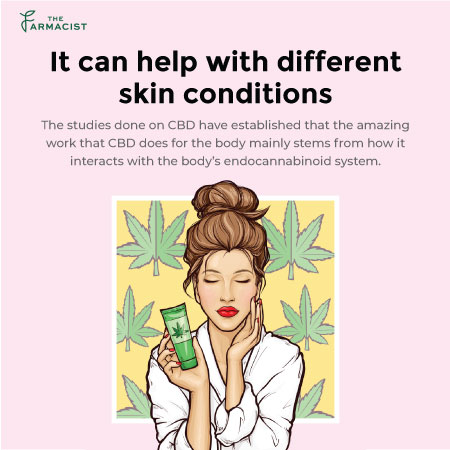It Can Help with Different skin Conditions
