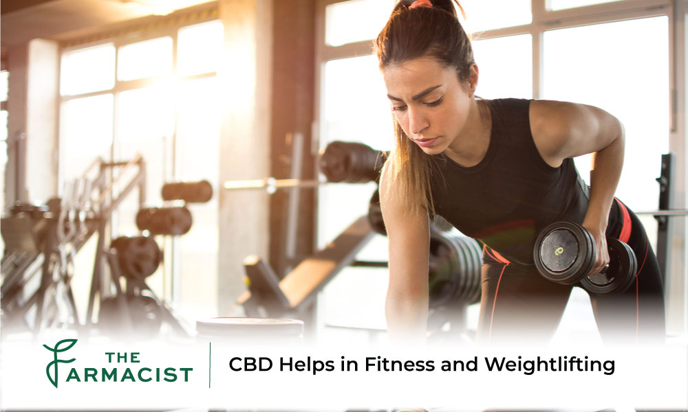 CBD Helps in Fitness and Weightlifting