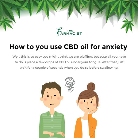 how to you use CBD oil for anxiety